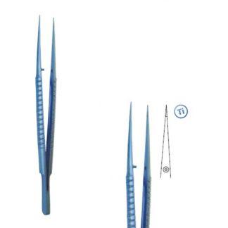 Pęseta mikrochirurgiczna tytanowa 150 prosta
