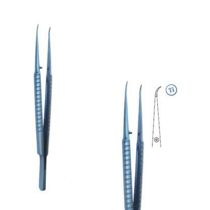 Pęseta mikrochirurgiczna tytanowa 150 zakrzywiona