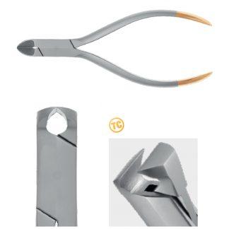 Kleszcze ortodontyczne do cięcia grubego i twardego drutu