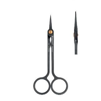 Nożyczki chirurgiczne HI-TECH Medesy, proste, długość 130mm. Powłoka DLC.