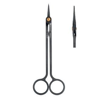 Nożyczki chirurgiczne HI-TECH Medesy, proste, długość 160mm. Powłoka DLC.